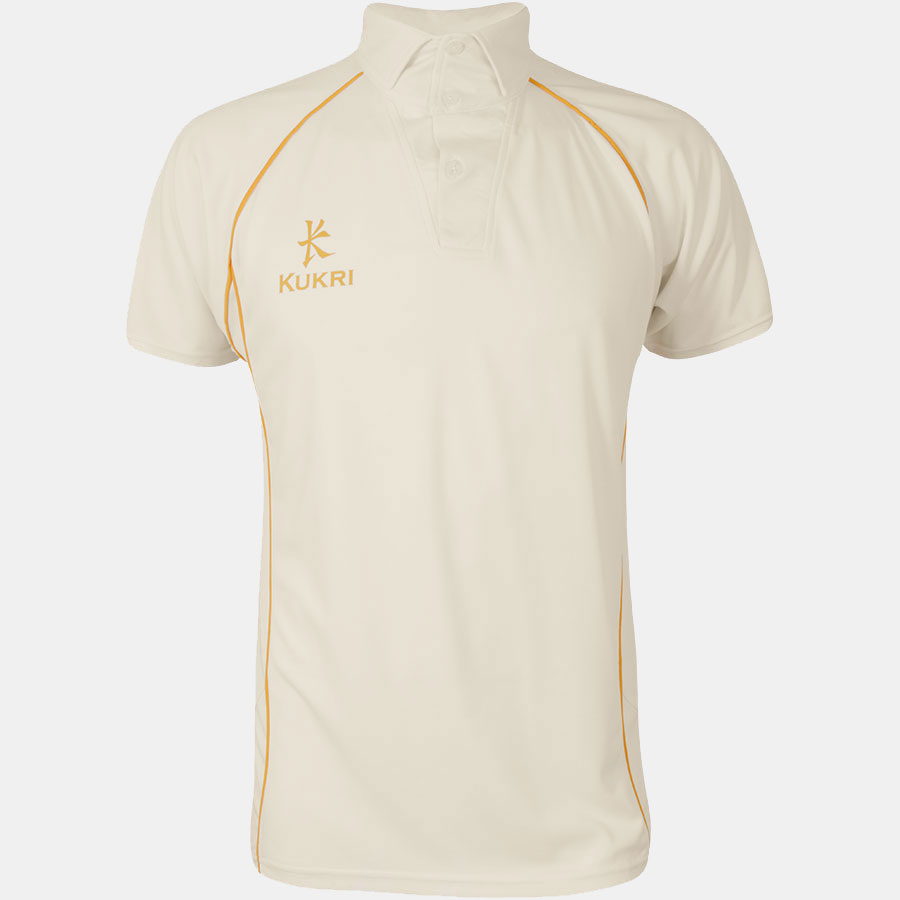 Cricket t shirt white - Cricket Jersey Youth Off White Amber